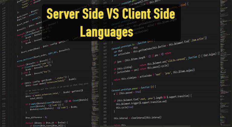 server vs client langs