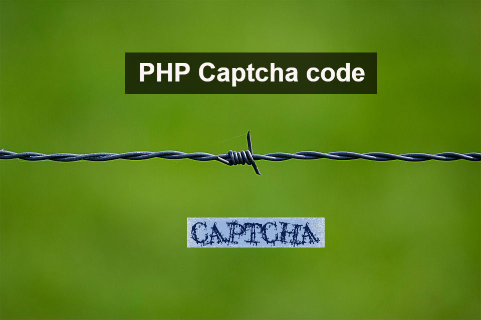 PHP create your own custom captcha easily | Coding Sips