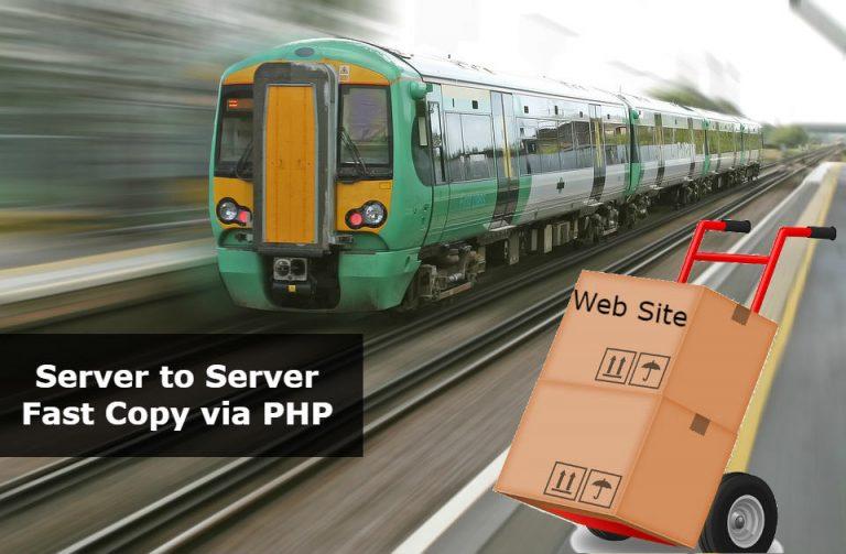 server to server copy files via php